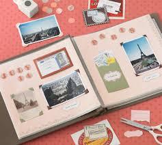 Álbum de fotos con sobres