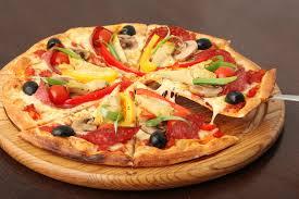 Pizza y light y apta para celiacos