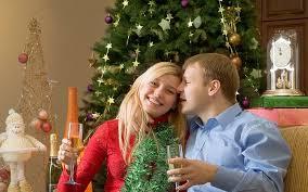 Cómo celebrar navidad con su nuevo amor