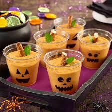 Puding de calabaza para Halloween