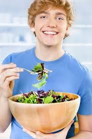 La dieta y los adolescentes
