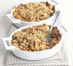 Crumble de manzana light