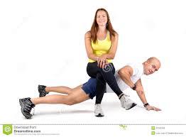Rutina en pareja para ejercitar tus piernas