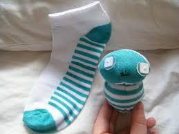 Manualidades con calcetín