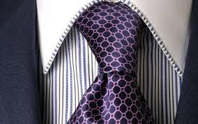 Medio Windsor para la corbata