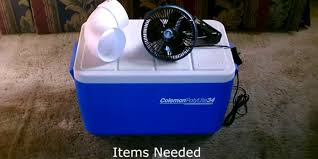 ¿Cómo hacer un aire acondicionado casero?