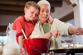 Abuelos y nietos