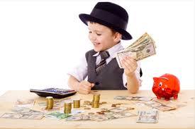 Niños y el manejo de dinero