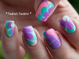 ¿Como pintar las uñas con agua?