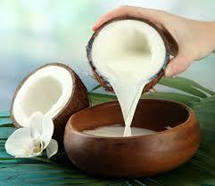 Leche de coco casera