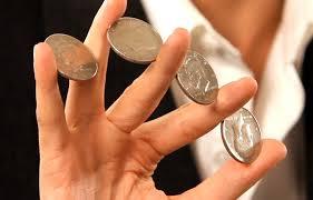 Magia con monedas