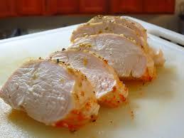Pechugas de pollo jugosas