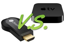 Apple Tv vs Chrome Cast