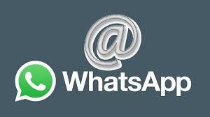 ¿Cómo arrobar en WhatsApp?