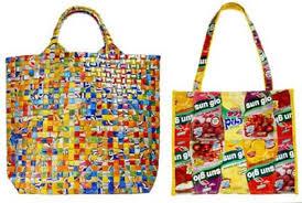 ¿Cómo tejer con bolsas plásticas?