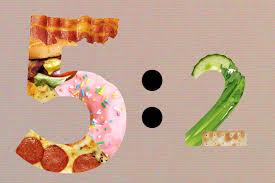 ¿Qué es la dieta 5:2?