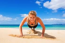 ¿Cómo adelgazar en la playa?