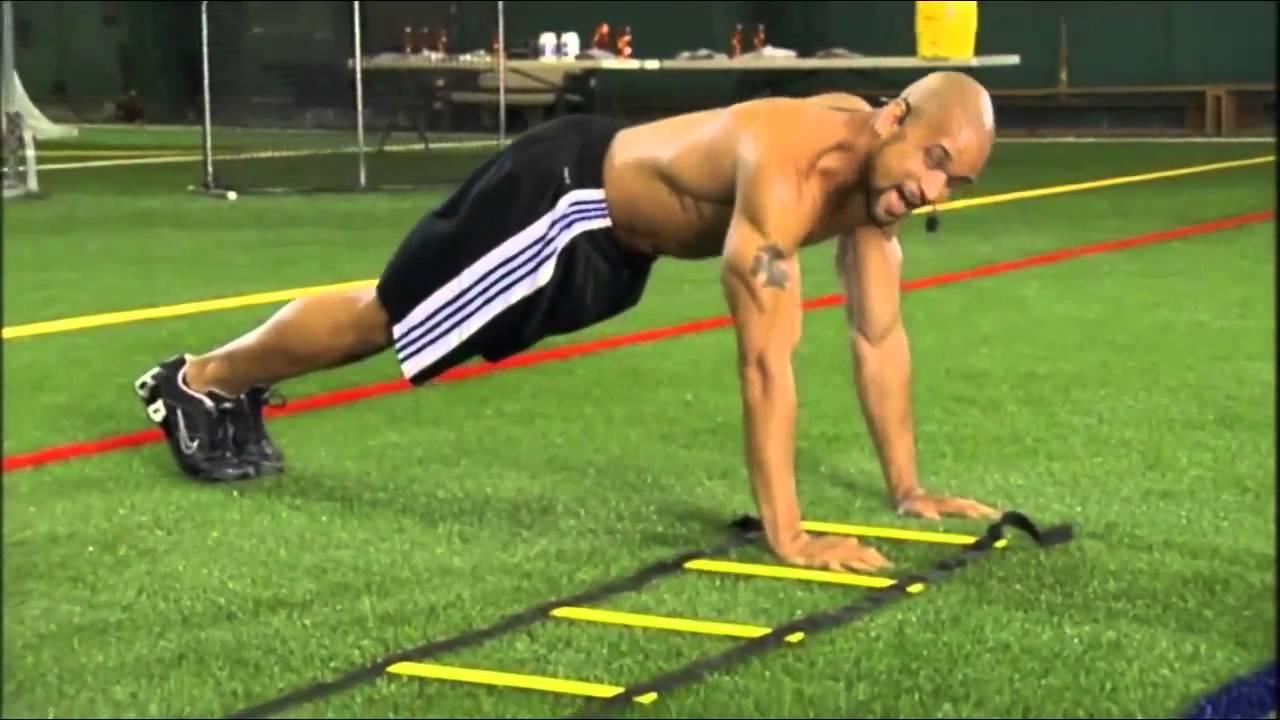 11 ejercicios con escalera