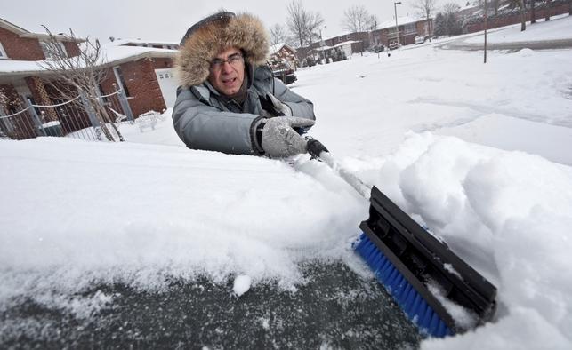 ¡Protege tu carro de la nieve!