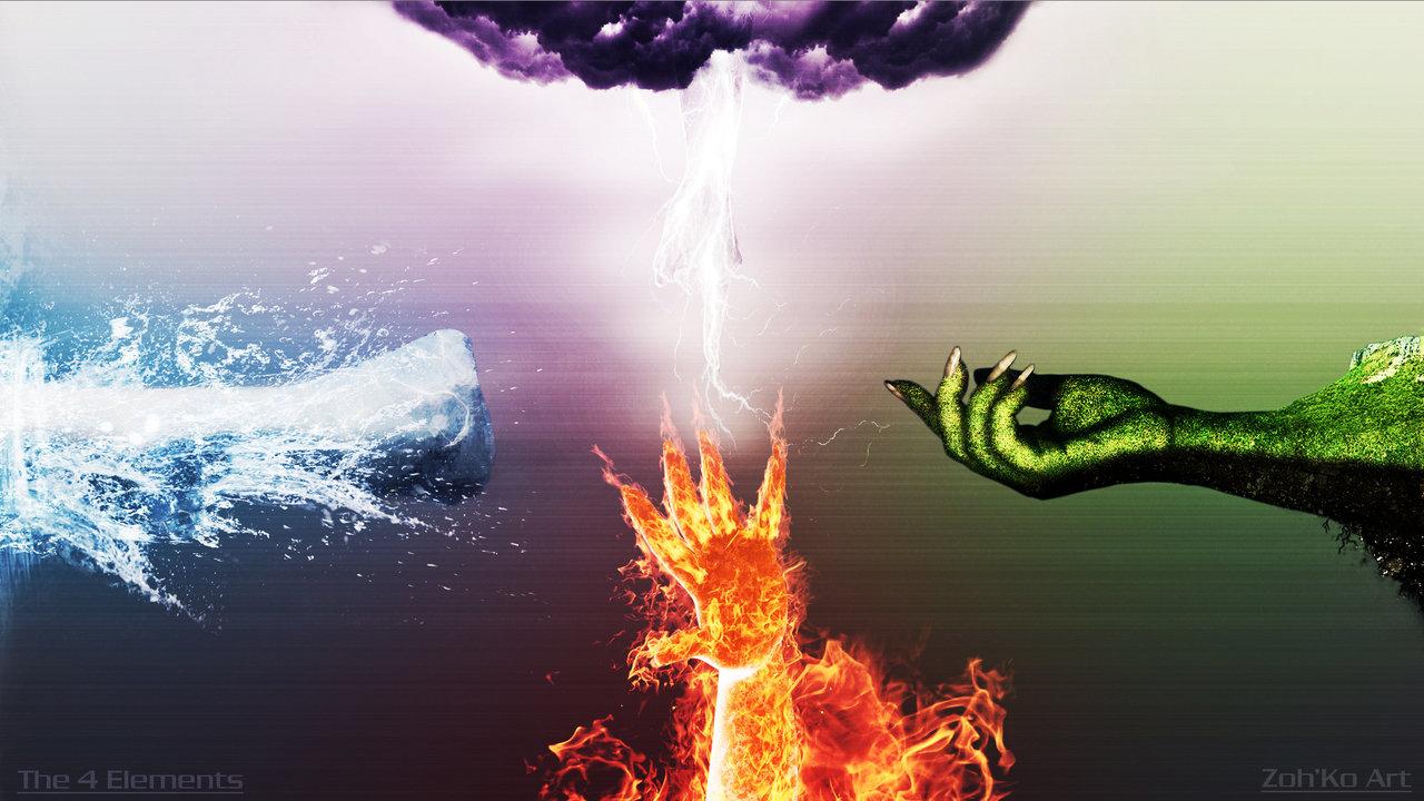 Los 4 elementos (y sus modalidades)