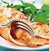 Omelette surprise de durazno