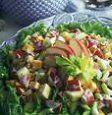 Ensalada de otoño con polenta: video paso a paso