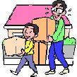 Los niños y las mudanzas