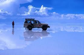 Salar de Uyunu, un pedazo de cielo en la Tierra